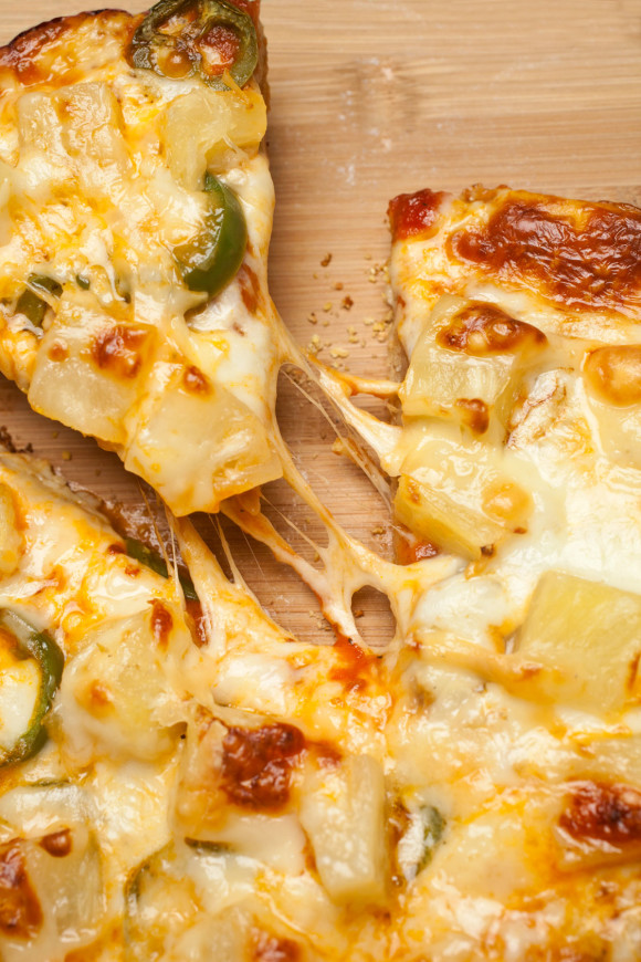 Pineapple + Jalapeño + Cheesy = Holy Trinity